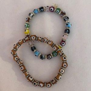 Devil eye handmade bracelet